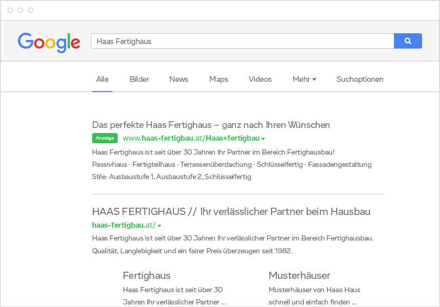 Google AdWords Kampagne