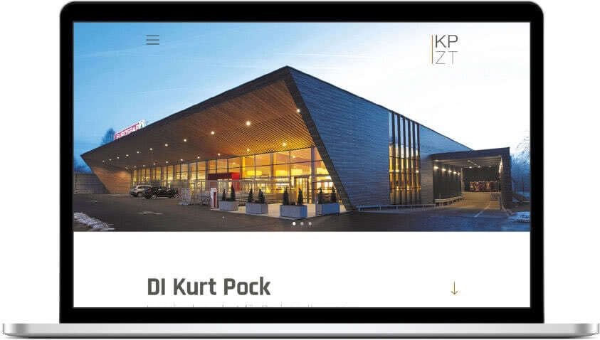 Website DI Kurt Pock